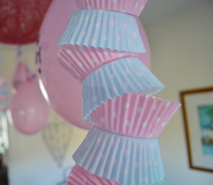 Cupcake case decorations