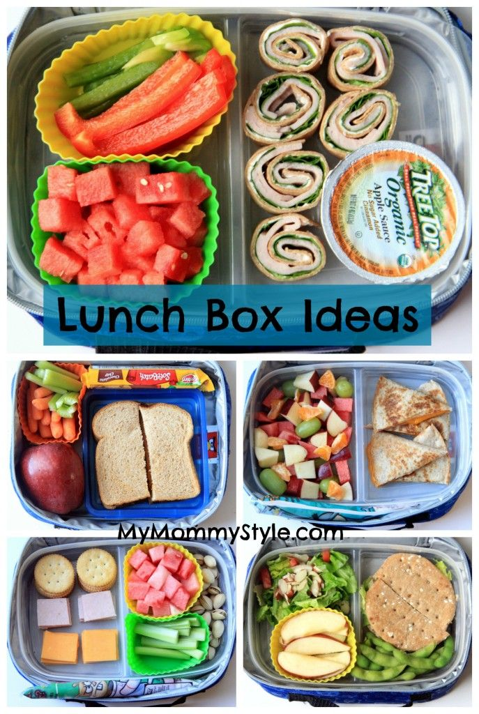 bun cases to create different compartments in the lunch boxes
