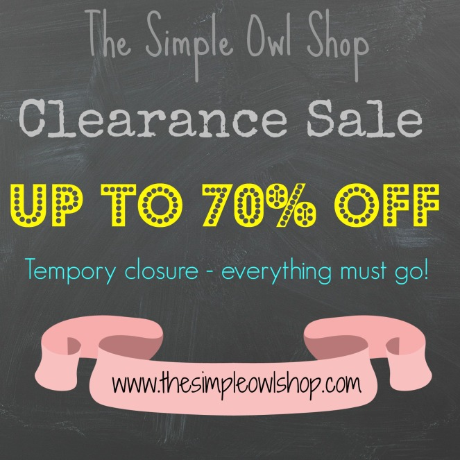 Stock Clearance Poster 2 January 2016